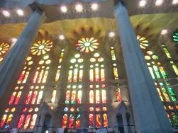 Sagrada Familia intérieur 1